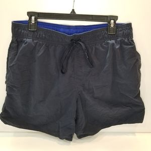 St. John's Bay Navy Blue Swim Trunks